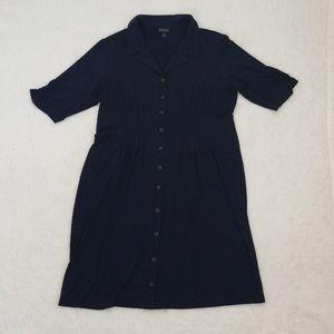 Enfocus studio button down dress